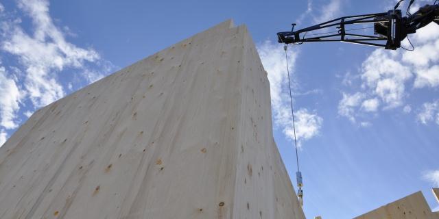 costruzione residenziale progettata da edicom