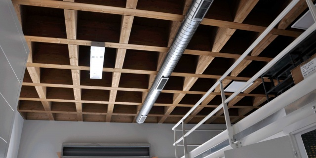 strutture industriali in legno